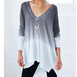 UO ombré pins and needles long sleeve